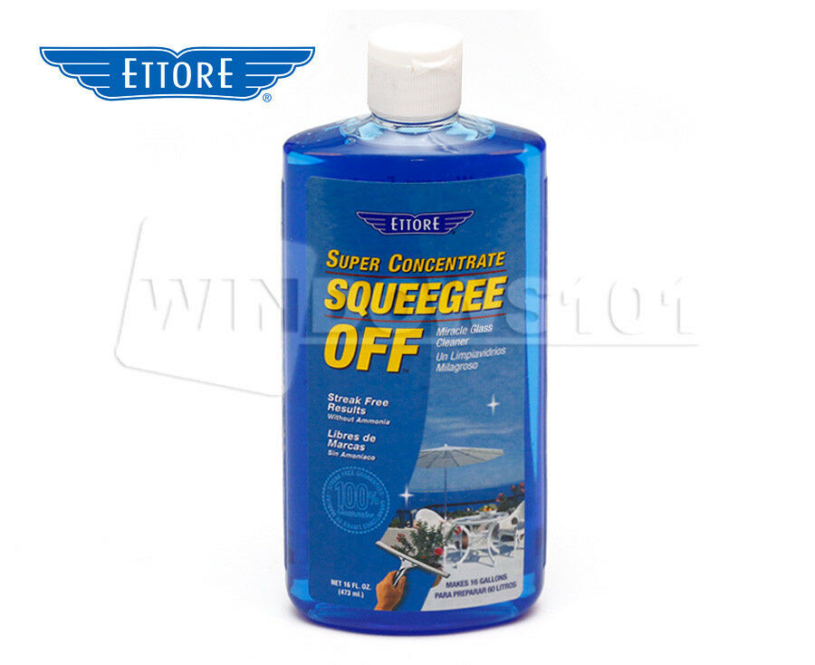 Ettore Squeegee Off 30116 Window Cleaning Solution Liquid