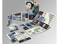 Free Brochure design ,Flyer, Leaflet ,Web Banner
