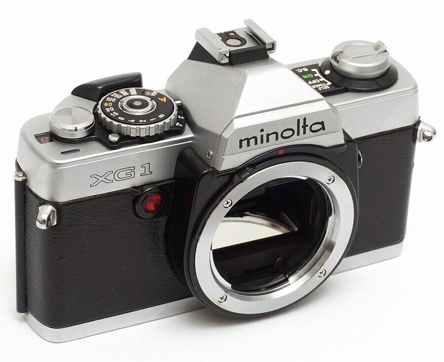 MINOLTA XG1 SPIEGELREFLEX KAMERA VOLLE FUNKTION MD MOUNT 35MM FILMKAMERA XG 1