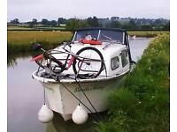 Freeman 22 MKII Motorboat, canal/river cruiser boat priced to sell