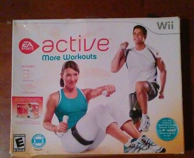 EA Sports Active: More Workouts (Nintendo Wii) Nutrition Book