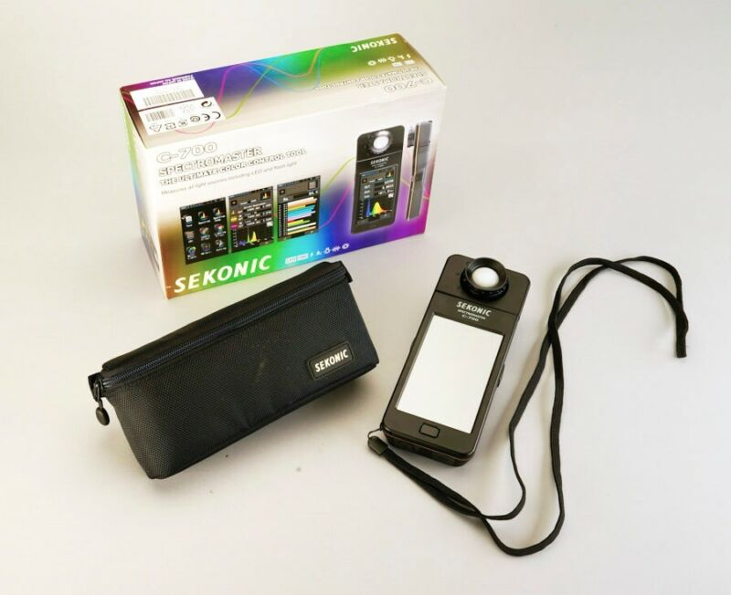 Sekonic C-700 SpectroMaster Spectrometer Color Control Tool FREE Shipping