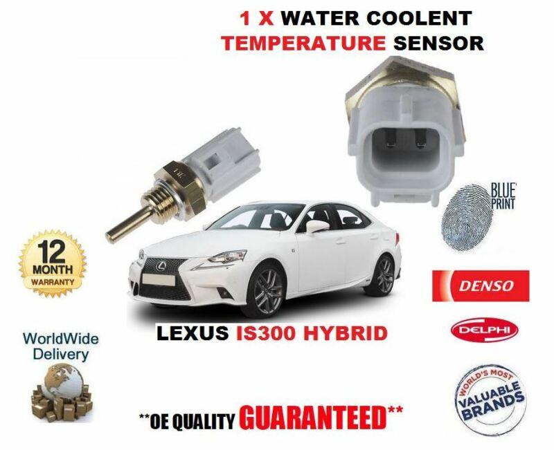 FOR LEXUS IS300 HYBRID 2013-> NEW WATER COOLENT TEMPERATURE SENSOR OE 8942233030