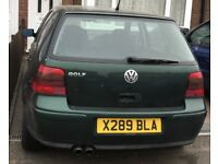VW Golf mk4 4 motion