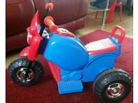 Electric toddler bike