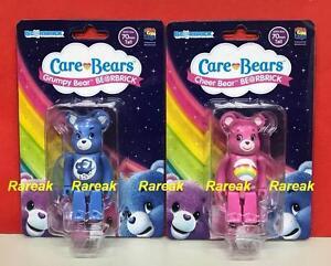 Medicom-2017-Be-rbrick-Care-Bears-100-Grumpy-amp-Cheer-Bear-Bearbrick-Set-2pcs