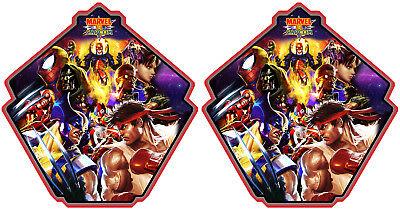 Multicade Marvel Vs Capcom Arcade Side Art Cabinet Graphics For Reproduction