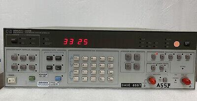 Agilent Hp Keysight 3325b Opt 001 Synthesizer Function Generator