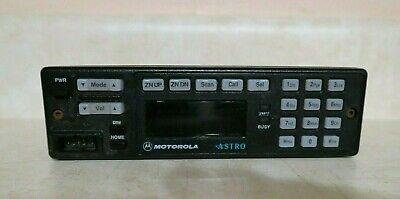 Motorola Astro Spectra W7 Mhln6432e Radio Control Head Hln6432