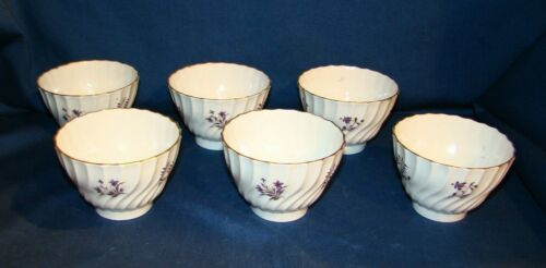 Barr Flight & Barr Worcester Early 19th Century 6 Tea Bowls