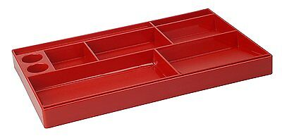 Acrimet Drawer Organizer Solid Red Color