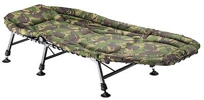 TF Gear NEW Carp Fishing Camping Survivor Bed Strong and Lightweight Ex Demo