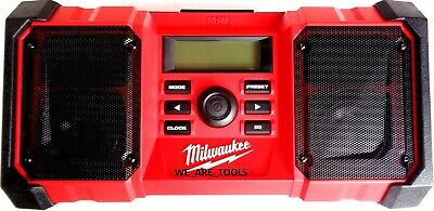 New Milwaukee 2890-20 Radio 18 Volt M18 Cordless & Corded A/C W USB Port Charger