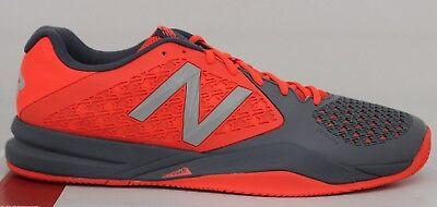 Herren New Balance Tennis 996 V2 MC996MF2 Grau/Orange Size 14 Nagelneu in Karton