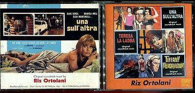 1 CENT CD Original Soundtracks - Riz Ortolani / Una Sull'Altra /Teresa La Ladra