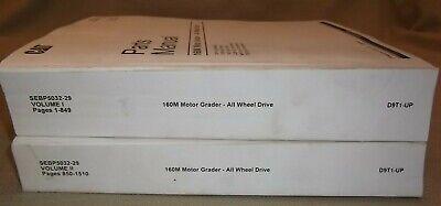 Cat Caterpillar 160m Awd Motor Grader Parts Manual Book Sn D9t00001-up Sebp5032