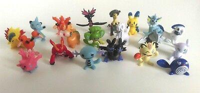 POKEMON 20 Pieces Pokemon Go Figures Small Mini Micro Figures Set - Set 5