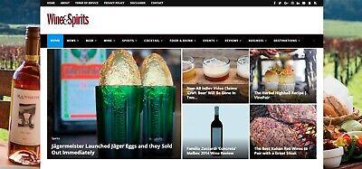 Spirit Website (Wine Beer Spirit & Food Autopilot Website - Automated Wordpress)