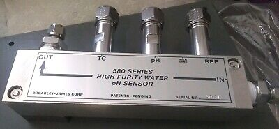 New Broadley-james 580 Series High Purity Water Ph Sensor