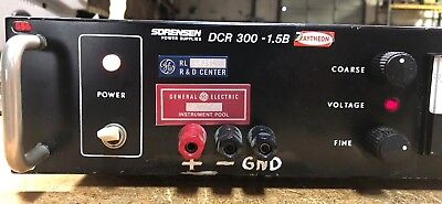 Nice Sorensen Dcr300-1.5b Power Supply 103-127v