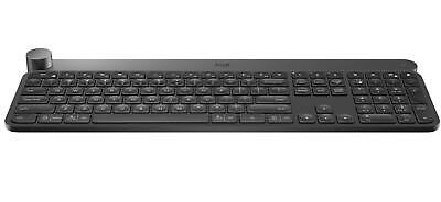 Logitech Craft Advanced Wireless Keyboard with Creative Input Dial Backlit Keys
