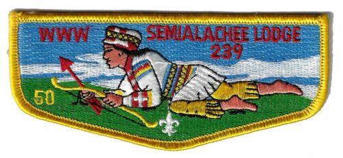 OA - Semialachee Lodge 39 S29 - 50th Anniversary.