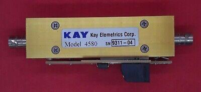 Kay Elementrics 4580 Programmable Attenuator 50 Ohm Sma Dc - 500mhz