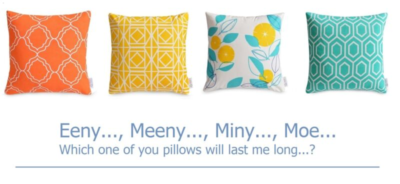 How to choose easy maintainance, durable decorative pillows