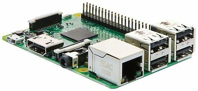 Raspberry Pi 3 Modell B - Quad-Core Prozessor / 1GB RAM WiFi Bluetooth onBoard