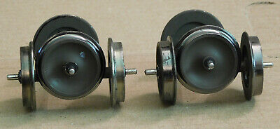 Painted 4-AXLES METAL WHEEL SETS AND AXLES / Bachmann Spectrum 92421 G Scale