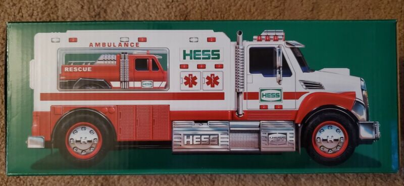 2020 Hess Toy Truck AMBULANCE and RESCUE