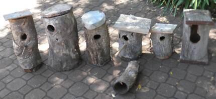 bird nesting box's/cages