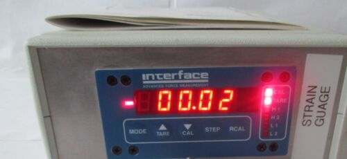 Interface 9820 Strain Gage Transducer Indicator and Controller