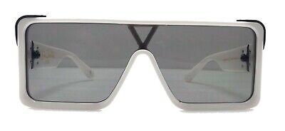 White Fram Runway Sunglasses For Man Rectangular Shape Millionaire (Millionaire Glasses)
