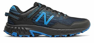 New Balance Men's 410v6 Trail Shoes Black with Blue