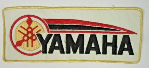 """large rectangle YAMAHA 10"""" jacket back patch UNUSED"""