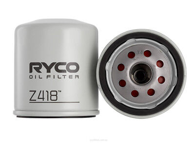 Ryco Oil Filter Z418   For Toyota Hiace Camry Hiace Hilux Landcruiser Box Of 8