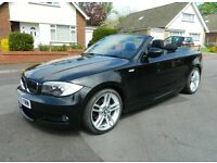 2012 BMW 120D M Sport Convertible. P/X, Warranty, Credit Cards, Finance Welcome
