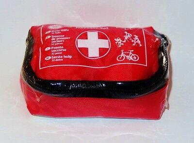 Erste Hilfe Set Verbandsmaterial Notfallset Tasche outdoor Fahrrad wandern Neu