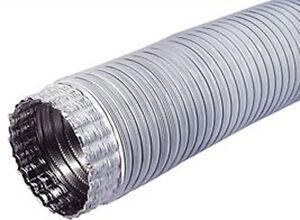 Tubo flessibile estensibile in alluminio diametro 8cm - Tubo cappa cucina diametro ...