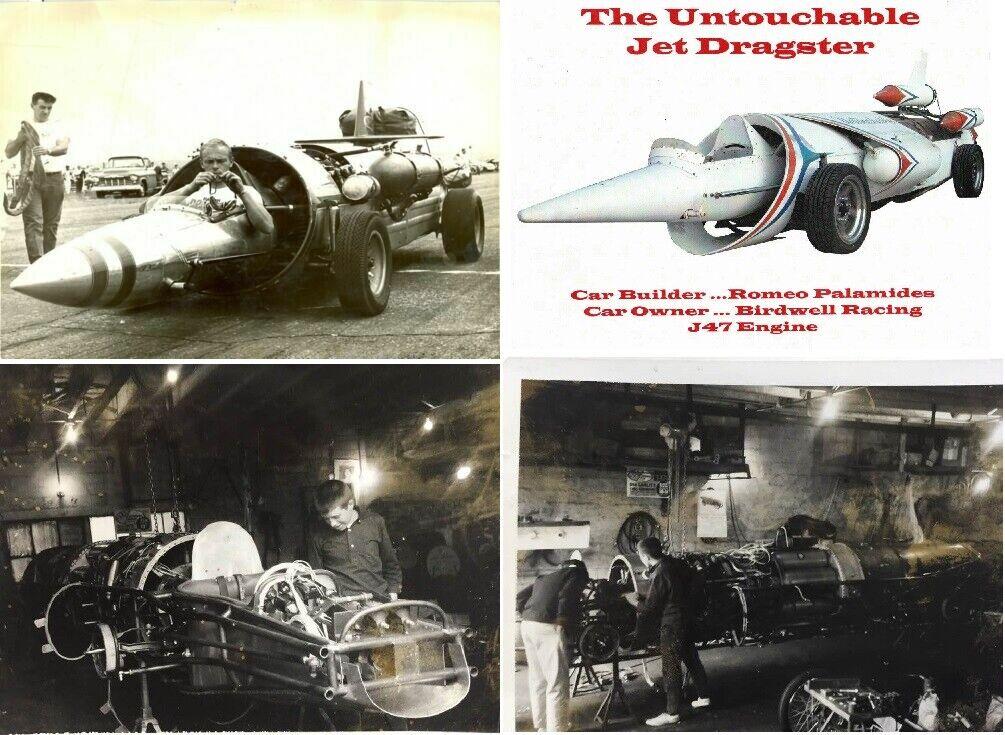 The Untouchable Jet Car,Jet Dragster,J-47,Romeo Palamides,NHRA,IHRA,Dragster