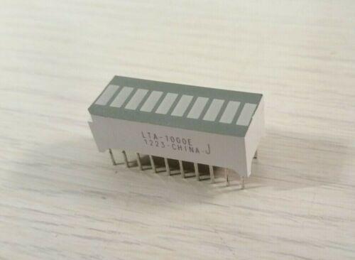 (10 pcs) LiteOn LED Display Array 10-Bar LTA-1000E Red-Orange