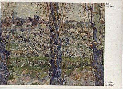 Alte Kunstpostkarte - Vincent van Gogh - Blick auf Arles