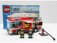 Another collection of small Lego city vehicles.