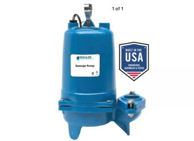 Goulds Ws2012bhf 2hp Submersible Sewage Pump