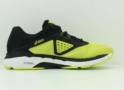 Asics Gt-2000 6 Yellow Black White Mens Running Trainers Shoes