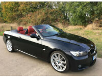 Black M Sport BMW 320d Highline