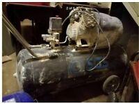 SGS 100 litre air compressor