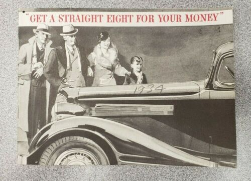 1934 Pontiac Straight Eight Sales Catalog