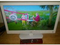22 inch led TV dvd combi  with built in free view